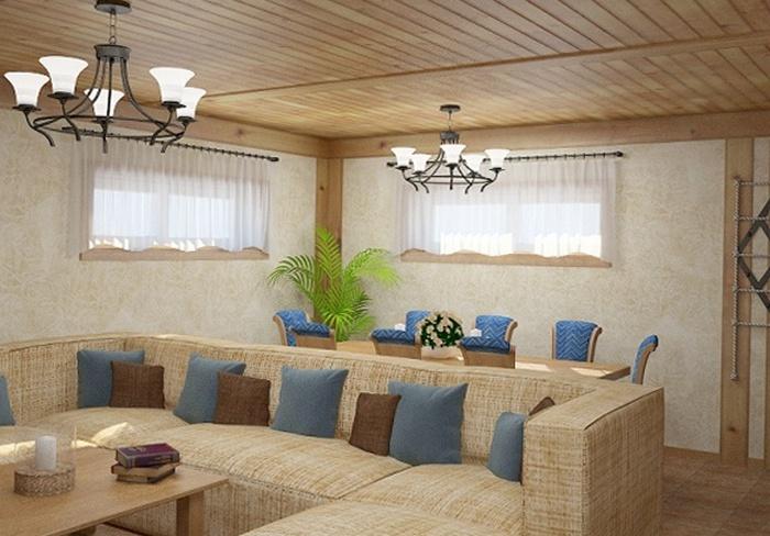 Цокольный этаж фотография интерьера fdlx.com