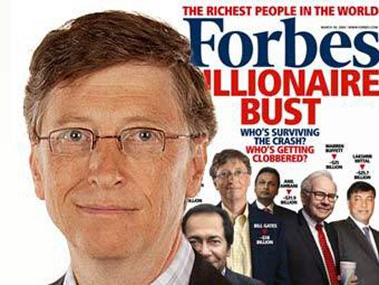 Forbes опубликовал рекордный список миллиардеров