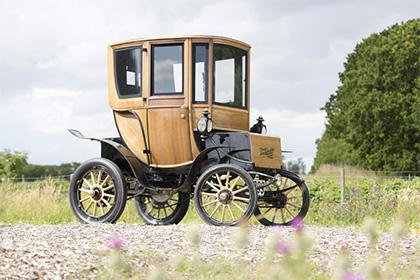 В Дании продали 110-летний электромобиль