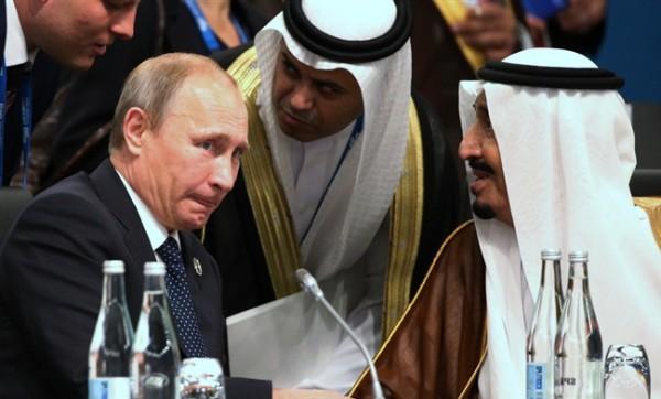 Нефтяным пактом с саудовцами Путин усиливает войну в Сирии