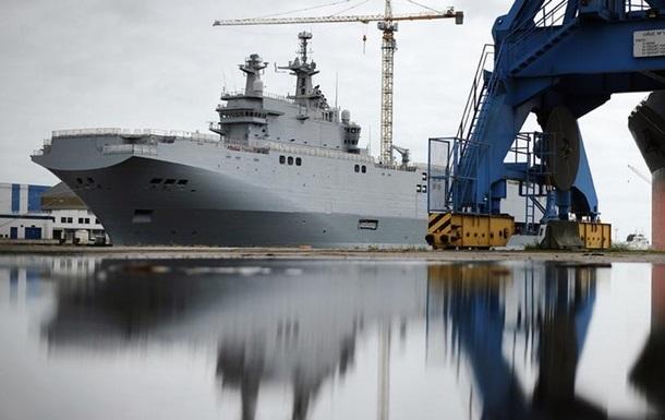 Франция перечислила России неустойку за Мистрали