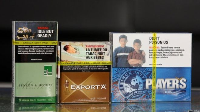 Табачные фирмы оштрафованы в Канаде на миллиарды долларов