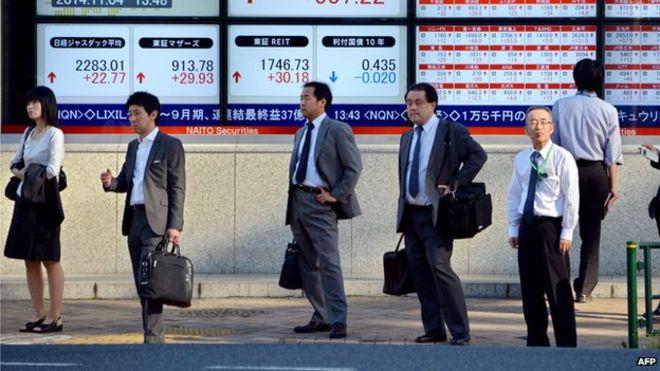 Цены на акции в Азии пошли на спад в связи с греческим кризисом