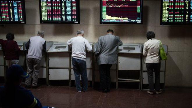 Паника на фондовом рынке Китая