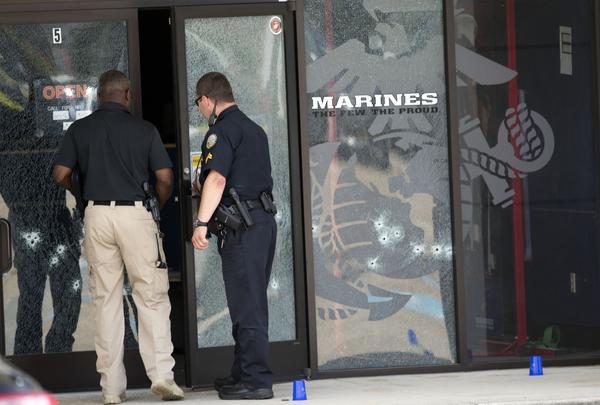 Убиты четыре морских пехотинца на базе в США