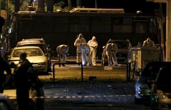 В центре Афин произошел взрыв - сработала бомба с таймером