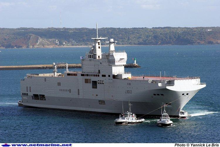 Рассторжение контракта о продаже французских военных кораблей России обойдется в миллиард долларов