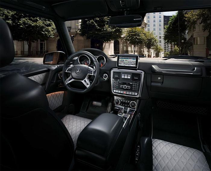 Обзор автомобиля Mercedes-Benz G-Class 2015-2016 модельного года