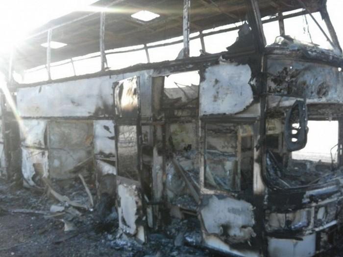 Смертельное ЧП в Казахстане: в автобусе сгорели 52 человека