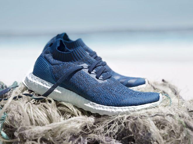 Adidas изготавливает новую серию кроссовок из рыболовных сетей