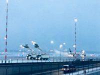 Аэропорт Франкфурта отменил 170 рейсов из-за сильного снегопада