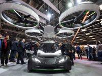 Airbus представил модель летающего автомобиля-квадрокоптера