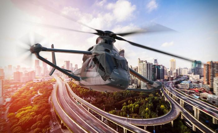 Airbus разрабатывает сверхскоростной вертолет