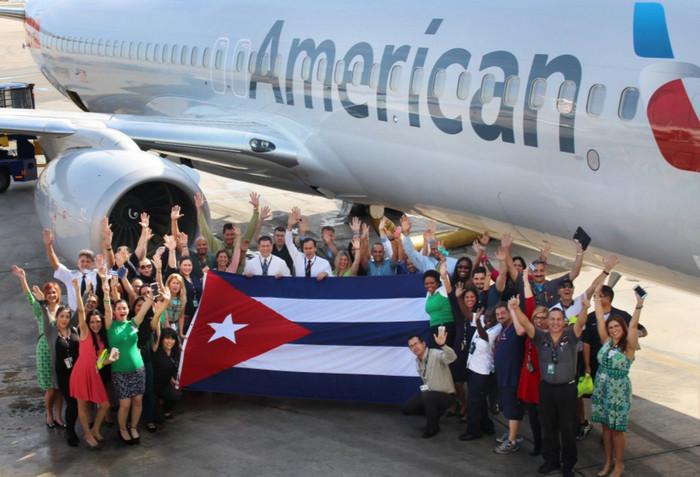 American Airlines открывает офис на Кубе