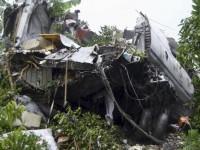 В Африке потерпел крушение самолет Ан-12 с российским экипажем на борту (фото)