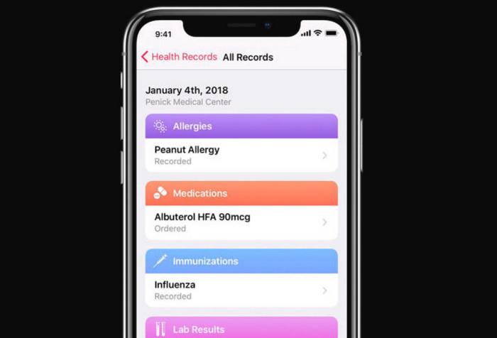 Apple запускает новый медицинский сервис