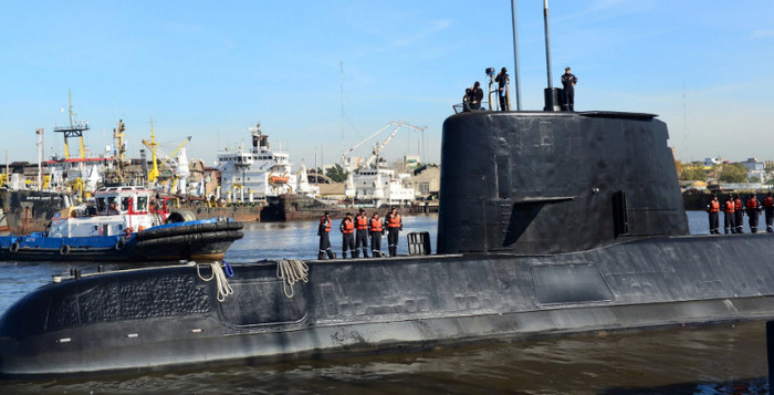 Аргентина отказалась от спасения экипажа пропавшей подводной лодки