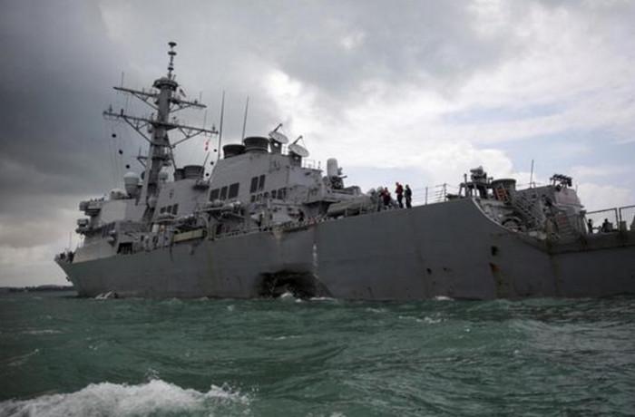 Аварии военных кораблей США могут быть последствиями кибератак, - эксперты