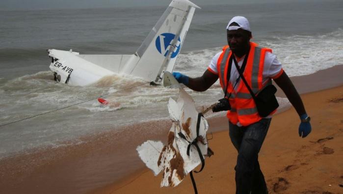 Авиакатастрофа в Кот-д'Ивуаре: самолет был зафрахтован французскими военными