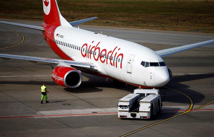 Авиакомпания Air Berlin отменила десятки рейсов из-за больничных у пилотов