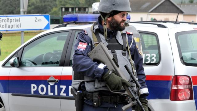 Австрия: нацист на автомобиле расстрелял людей и скрылся в лесу