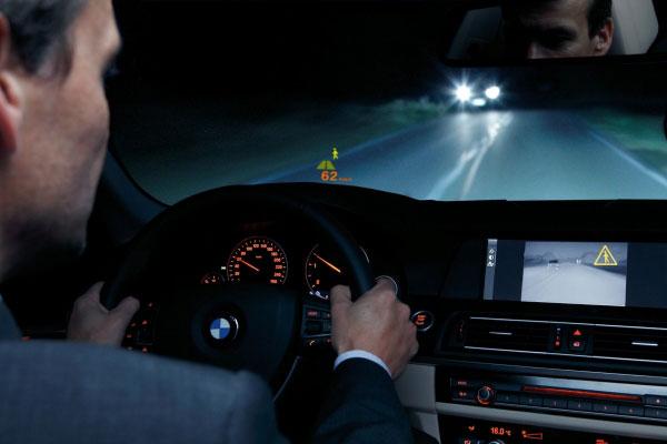 Система ночного видения в автомобиле