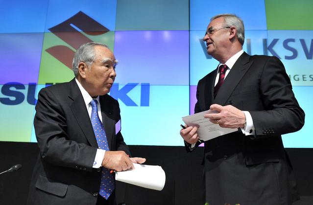 Suzuki и Volkswagen разрывают партнерские отношения