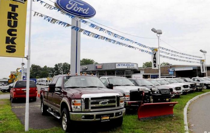 Автомобильный рынок США показывает резкое падение продаж