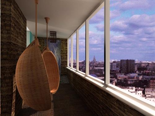 Алюминиевые оконные системы для остекления балкона