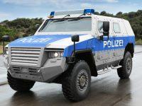 Берлинская полиция получила бронированные автомобили