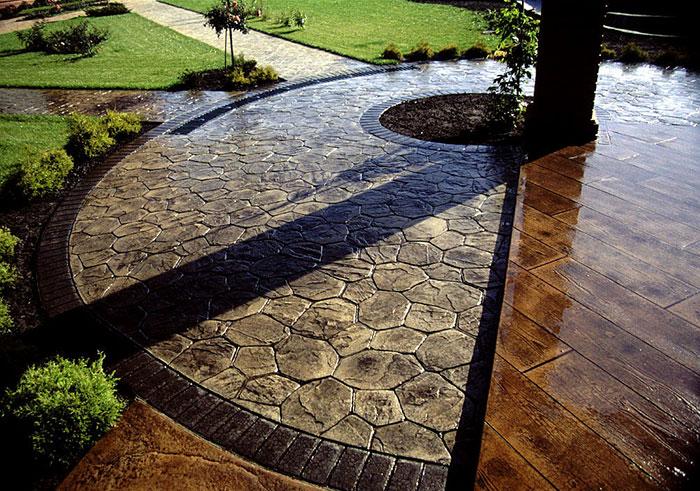Декоративный бетон: особенности изготовления