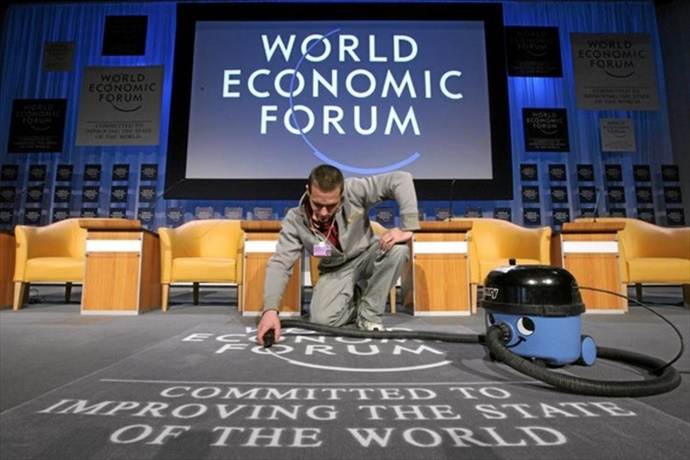 Биткойн раскритикован участникамиВсемирного экономического форума в Давосе