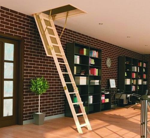 Бизнес идея: продажа чердачных лестниц