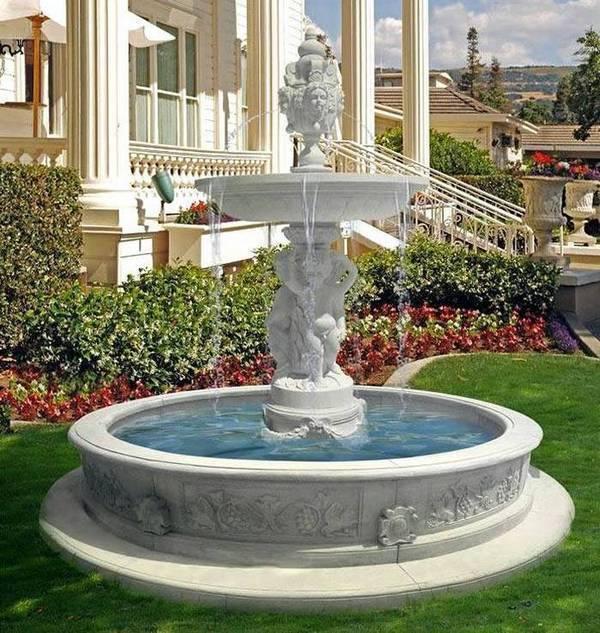 Бизнес идея: продажа оборудования для фонтанов