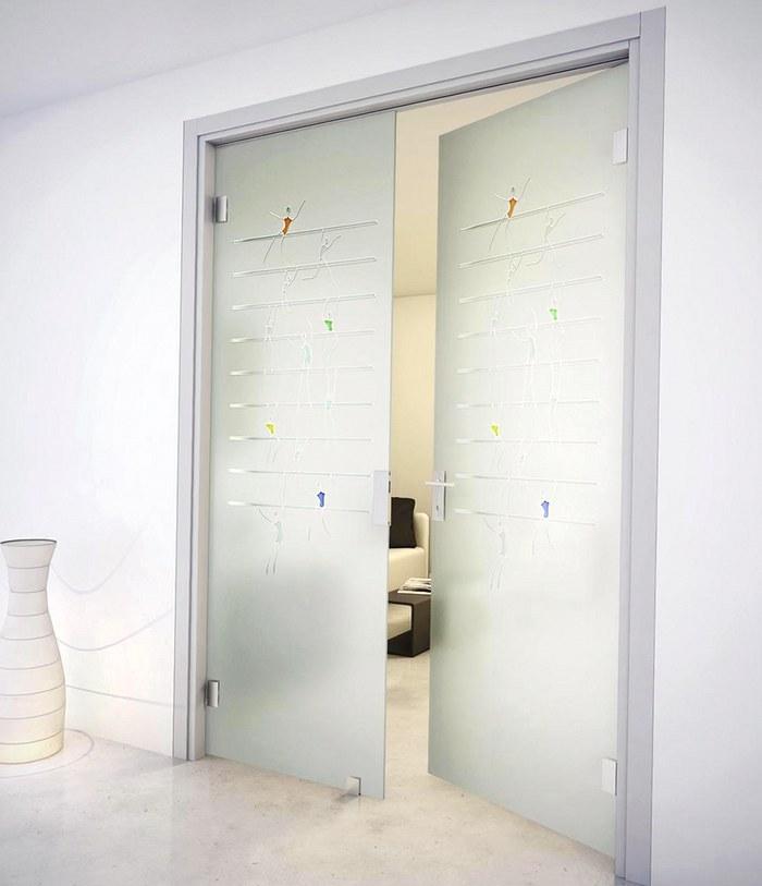 Бизнес идея: продажа стеклянных межкомнатных дверей
