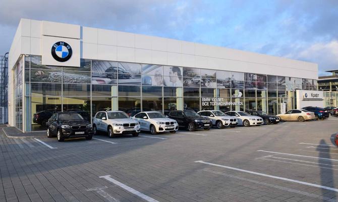 BMW в Украине открыли крупнейший автоцентр