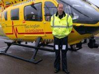 Британский принц Уильям покидает работу пилота вертолета в центре скорой помощи