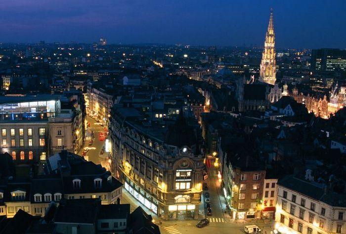 Брюссель несколько часов был без света