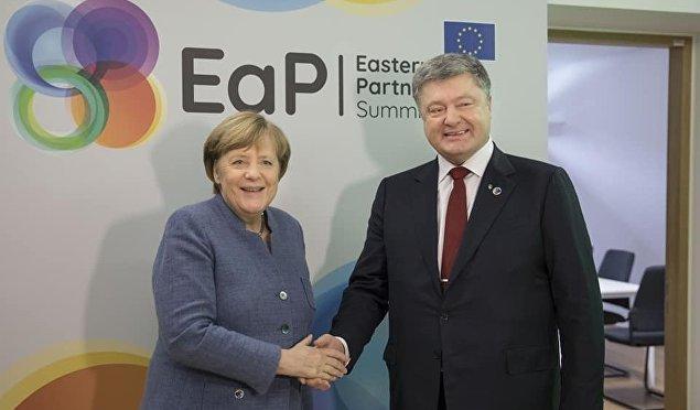 Брюссель: Порошенко встретился с Меркель и премьером Бельгии