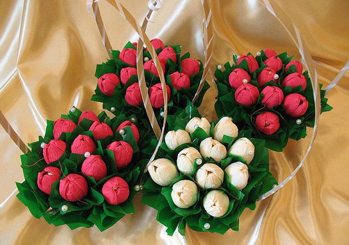 Идея для бизнеса: сладкие праздничные букеты