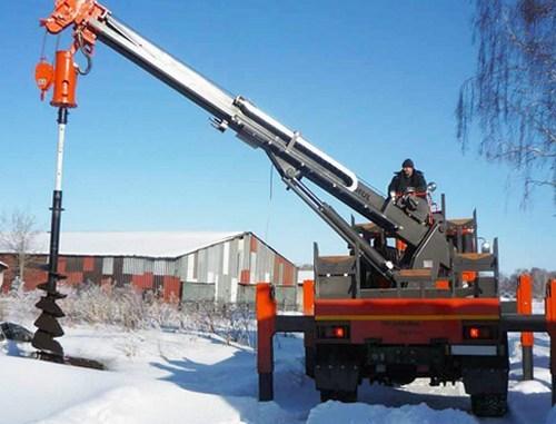 Буровое оборудования для бурения скважин на воду