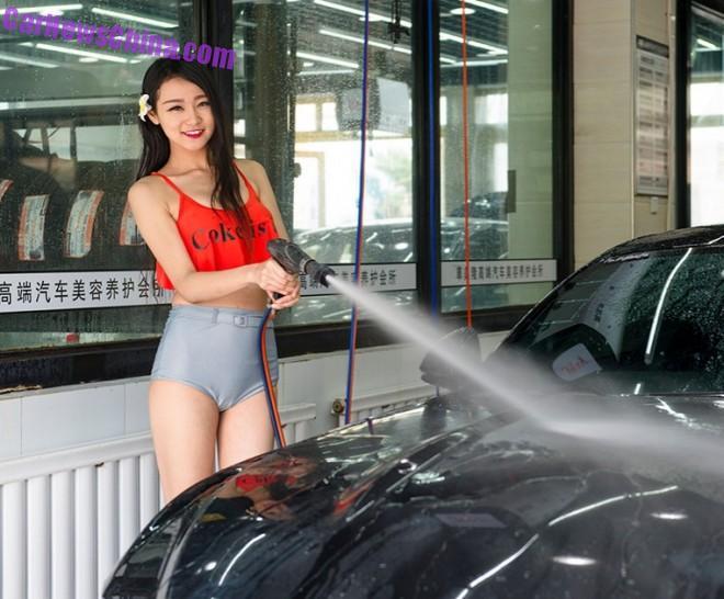 В Китае открылась секс-автомойка