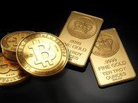 Цена биткойна превысила стоимость унции золота