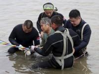 Кораблекрушение китайского судна на реке Янцзы