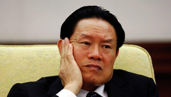 Бывшего главу госбезопасности Китая Чжоу Юнкана будут судить