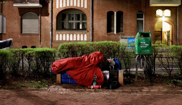 Число бездомных в Германии выросло на 150%