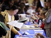 Число безработных в США снижается на 10 000 человек каждую неделю