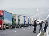 Дальнобойщики могут перекрыть Киев из-за новых лицензионных требований