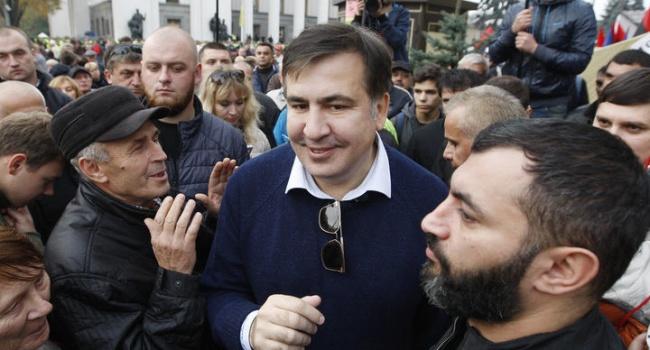 Дело Саакашвили: акция протеста, постановление суда и домашний арест