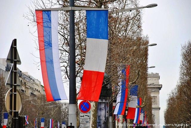 Деловые отношения России и Франции улучшаются